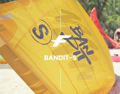F-ONE BANDIT-S | COMETA PARA OLAS Y STRAPLESS FREESTYLE